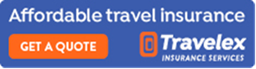 Logo: Affordable travel insurance from Travelex Insurance Services